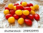 Red And Yellow Cherry Tomatoes...