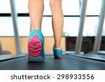 walk  shoes  gym. | Shutterstock . vector #298933556
