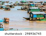 Floating Village In Tonle Sap ...