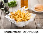 french fries  pub  heat.   Shutterstock . vector #298940855