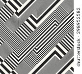 abstract intricately striped... | Shutterstock .eps vector #298952582