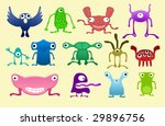 see more freaks in my portfolio | Shutterstock .eps vector #29896756