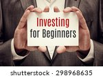 investor. business concept.... | Shutterstock . vector #298968635