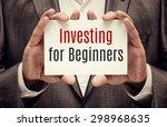 investor. business concept.... | Shutterstock . vector #298968635