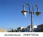 Street Lamp In The Old City Of...