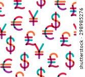 Various Currencies Signs...