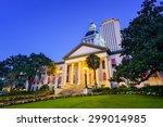 tallahassee  florida  usa at... | Shutterstock . vector #299014985