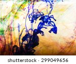 abstract and very colorful... | Shutterstock . vector #299049656