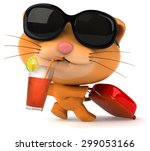 fun cat | Shutterstock . vector #299053166