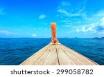 adventure seascape background... | Shutterstock . vector #299058782