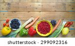 healthy food  vegetables and...