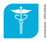 caduceus medical symbol. | Shutterstock . vector #299120426