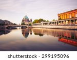 Stock photo museum island with berlin cathedral berlin germany 299195096