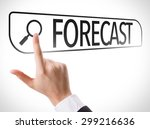 forecast written in search bar... | Shutterstock . vector #299216636
