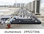 an image of a lot of pipe for...   Shutterstock . vector #299227346