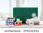 first aid kit  first aid ... | Shutterstock . vector #299232332