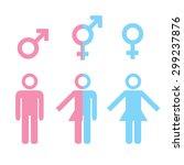 transgender transsexual concept....   Shutterstock . vector #299237876