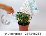 the photograph shows a money... | Shutterstock . vector #299246255