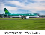 Small photo of PRAGUE, CZECH REPUBLIC - MAY 13: Aer Lingus Airbus A320-214 lands at PRG Airport on May 13, 2015. Aer Lingus is the national flag carrier airline of Ireland.