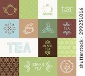 vector tea package design...   Shutterstock .eps vector #299251016