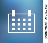 outline icon calendar