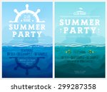 Poster For Summer Party.