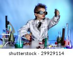 educational theme  funny teen ... | Shutterstock . vector #29929114