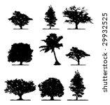 trees | Shutterstock .eps vector #29932525