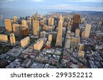 aerial view of downtown san... | Shutterstock . vector #299352212