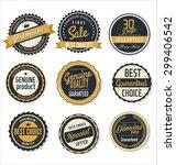 premium  quality retro vintage... | Shutterstock .eps vector #299406542