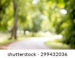 bokeh in the tree | Shutterstock . vector #299432036