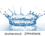 water splash | Shutterstock . vector #299440646