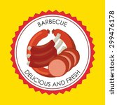 butchery house design  vector...   Shutterstock .eps vector #299476178