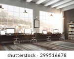 3d rendering of loft studio | Shutterstock . vector #299516678