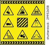 hazard warning signs 1 | Shutterstock . vector #29952658