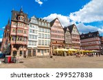 old traditional buildings in... | Shutterstock . vector #299527838