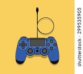 joystick game controller    Shutterstock .eps vector #299535905
