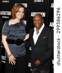 Small photo of Sigourney Weaver and John Singleton at the Los Angeles premiere of 'Abduction' held at the Grauman's Chinese Theater in Los Angeles on September 15, 2011.