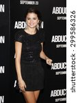 selena gomez at the los angeles ... | Shutterstock . vector #299586326