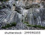 basalt rock  zlaty vrch  czech... | Shutterstock . vector #299590355