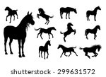 a set of high quality detailed... | Shutterstock .eps vector #299631572