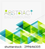 abstract geometric background.... | Shutterstock . vector #299646335