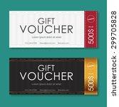 vector illustration gift... | Shutterstock .eps vector #299705828