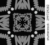 circular seamless  pattern of... | Shutterstock . vector #299729282