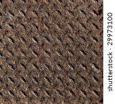 diamond steel plate useful as a ... | Shutterstock . vector #29973100