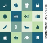 clothes icons universal set for ...   Shutterstock . vector #299771348