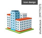vector clipart icon piece of... | Shutterstock .eps vector #299775272