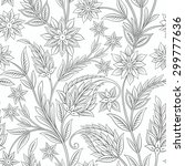 Seamless Paisley Ornament With...