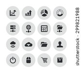 development  soft icons... | Shutterstock . vector #299821988