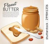 Peanut Butter   Vector...